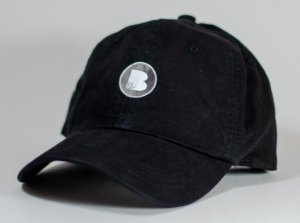 Boné Bamboo Dad Hat logo - Black