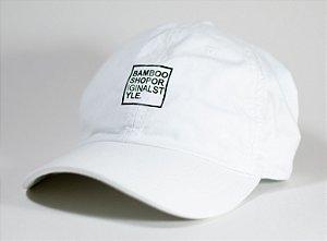 Boné Bamboo Dad Hat Style - Branco
