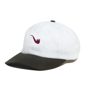 BONÉ BLAZE STRAPBACK PIPE BICOLOR WHITE GREEN