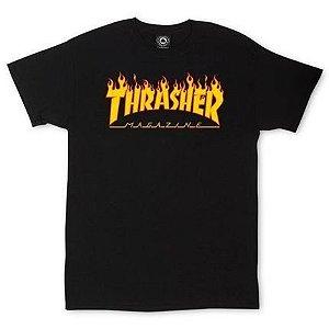 CAMISETA THRSHER FLAME LOGO