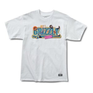 CAMISETA GRIZZLY POOL PARTY WHITE