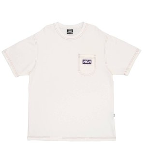 Camiseta High Company Tee Piquet Tee Pocket White