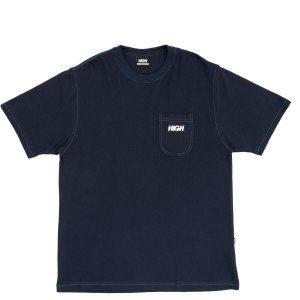 Camiseta High Company Tee Piquet Tee Pocket Black