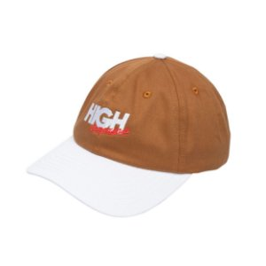 BONÉ HIGH COMPANY POLO HAT COMPAGNIA BROWN/WHITE