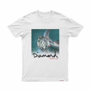 T-SHIRT DIAMOND SHIMMER TEE WHITE