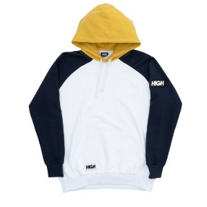 Moletom High Big Patch White