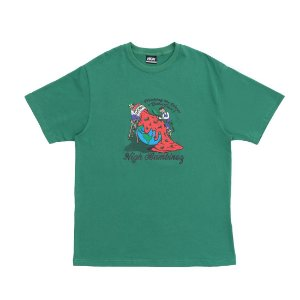 CAMISETA HIGH Tee Bambinoz Green