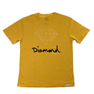Camiseta Diamond Og Sign Gold
