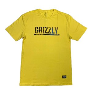 CAMISETA GRIZZLY STAMPED SCENIC BANANA