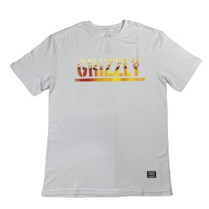 CAMISETA GRIZZLY BREW WHITE