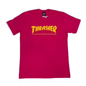CAMISETA THRASHER SKATE AND DESTROY PINK