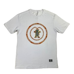 CAMISETA GRIZZLY CHAIN TEE WHITE