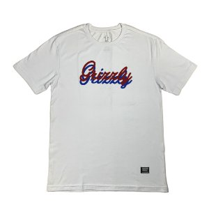 CAMISETA GRIZZLY CURSIVE WHITE