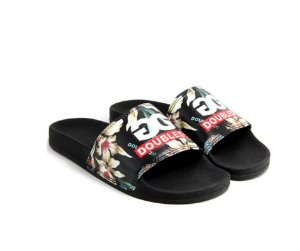 CHINELO SLIDE FLORAL DOUBLE G