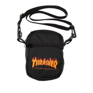 SHOULDER BAG THRASHER MAGAZINE FLAME LOGO