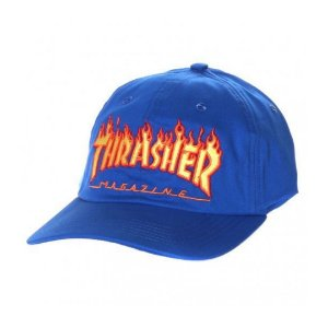 BONÉ THRASHER MAG DAD HAT AZUL