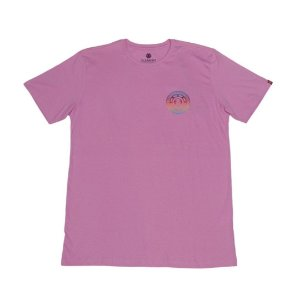 CAMISETA ELEMENT SEAL GRADIENT ROSA