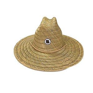 Chapéu de Palha Bamboo LOGO