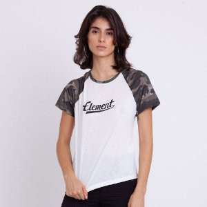 BLUSA FEMININA ROSE CAMO GIRLS OFF