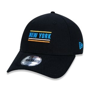BONÉ NEW ERA 9FORTY MLB NEW YORK YANKEES COLOR STRIPE CITY BLACK