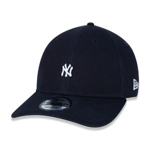 BONÉ NEW ERA 9FORTY MLB NEW YORK YANKEES MINI LOGO NY MARINHO