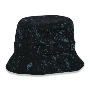 BUCKET INFANTIL PAINTED PRETO/AZUL