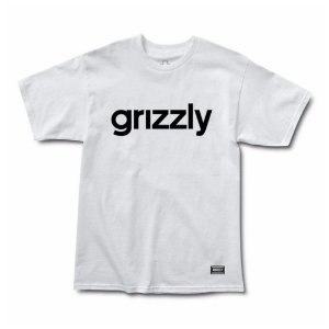 CAMISETA GRIZZLY LOWERCASE2 BRANCA