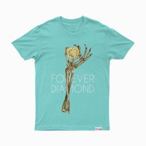 CAMISETA DIAMOND HEART OFF TEE