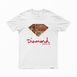 Camiseta Diamond Ethiopian White