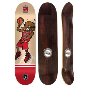 Shape Cisco Skate Fiber Decks Basquetball 8.0""