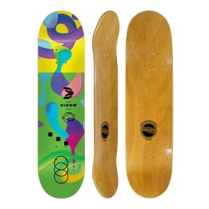 Shape Cisco Skate Fiber Decks Neon Green 8.125""