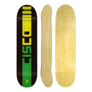 Shape Cisco Skate Marfim Company Black 8.125""