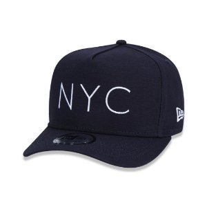 BONÉ NEW ERA 9FORTY NYC NEW YORK CITY MARINHO