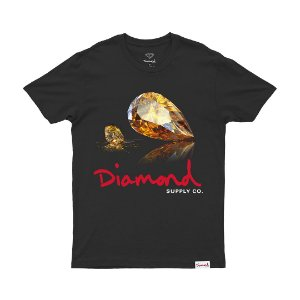 Camiseta Diamond  Mirror Black