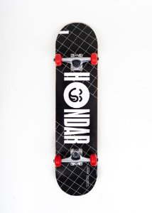 Skate Hondar Iniciante Logo Black