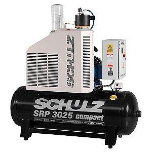 COMPRESSOR DE AR A PARAFUSO - SRP 3025 COMPACT - 9 BAR - TRIF - SCHULZ