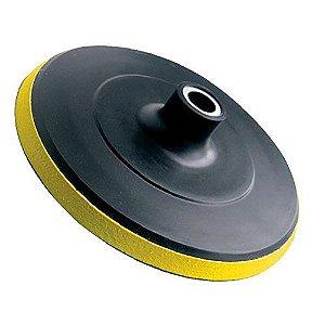 Disco de Borracha com Velcro para Esmerilhadeiras 180mm Black Jack Tools