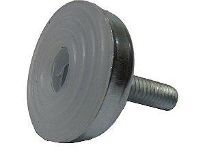 Pé nivelador base metal com bucha 5/16 x 1 base 35mm - 10 und