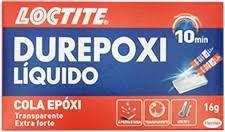 Durepoxi Líquido Cola Epóxi - 6 unidades
