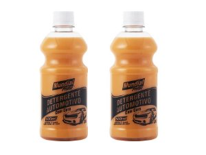 Detergente para carro com cera Mundial Prime - 02 unidades