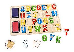 Carimbo Alfabético Jumbo