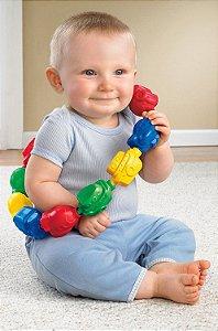Brinquedo Encaixa e Puxa - Forma de Veículos