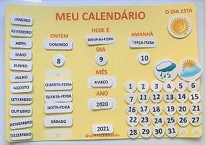 Meu calendário