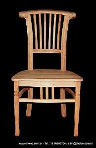 Cadeira Harpa assento madeira - sem pintura