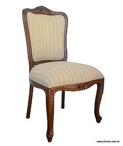 Cadeira Luis XV sem braços - encosto liso