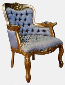 Poltrona Luis XV (estofamento especial)