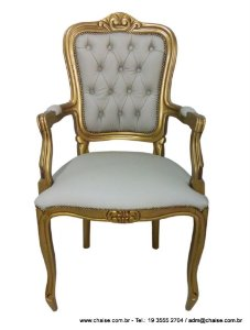 Cadeira Luis XV com braços  CDL