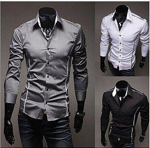 Camisa Social 3 Cores