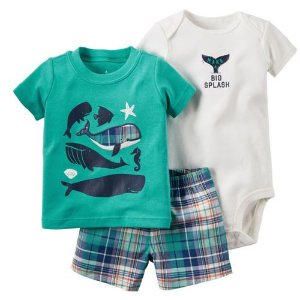 Conjunto Body Camisa e Bermuda Big Splash