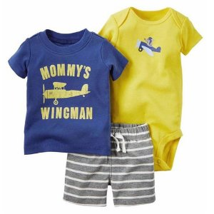 Conjunto Body Camisa e Bermuda Wingman
